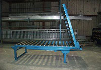 gravity roller conveyor gate