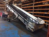 Chevron belt conveyor