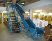 Mezzanine Conveyor Systems